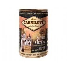 Carnilove Puppy Salmon & Turkey - консервы для щенков с лососем и индейкой