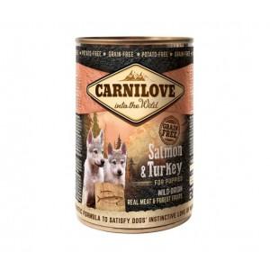Carnilove Puppy Salmon and Turkey - консервы для щенков с лососем и индейкой