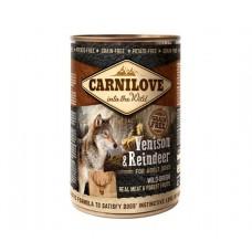 Carnilove Dog Venison & Reindeer - консервы для собак с северным оленем