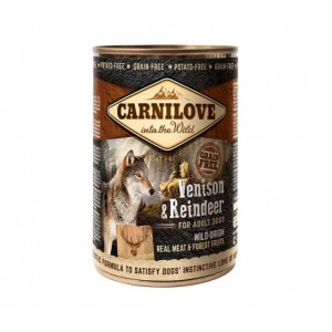 Carnilove Dog Venison and Reindeer - консервы для собак с северным оленем