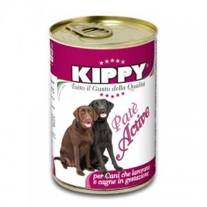 Kippy «Киппи» Dog Active Pate - влажный корм для собак / Говядина с курицей