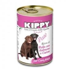Kippy Dog Chicken, Salmon and Carrot Pate - влажный корм для собак / Курица, лосось, морковь