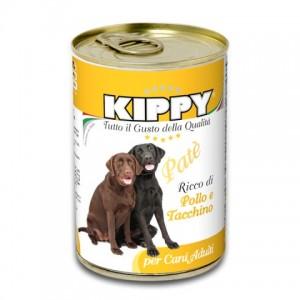 Kippy «Киппи» Dog Turkey and Chicken Pate - влажный корм для собак / Индейка с курицей