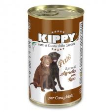 Kippy Dog Lamb&Rice Pate - влажный корм для собак / Ягненок с рисом