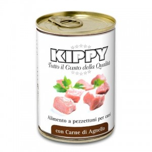 Влажный корм для собак: кусочки мяса баранины в желе «Kippy Dog Lamb Meat» | Консервы для собак из Италии: Киппи | Petplus