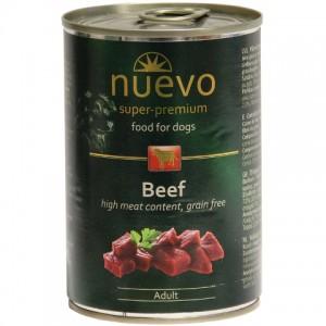 Nuevo Adult Beef for Dogs - консервы с говядиной для собак