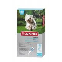 Bayer Advantix (Адвантикс) - средства защиты от блох и клещей для собак (от 4 до 10 кг)