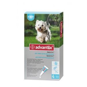 Средства защиты Bayer Advantix - Адвантикс для собак от 4 до 10 кг