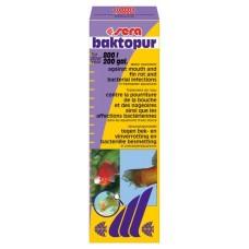 Sera baktopur - кондиционер для аквариумной воды против нагноений плавников и ротовой полости