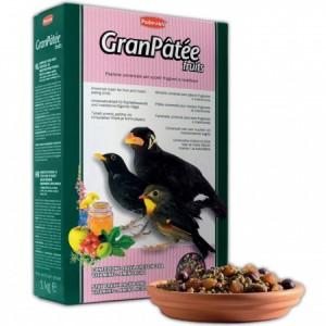 Padovan Granpatee fruits (корм для насекомоядных и плодоядных птиц)