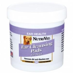 Nutri-Vet (Нутри-Вет) «ЧИСТЫЕ УШИ» влажные салфетки для гигиены ушей собак