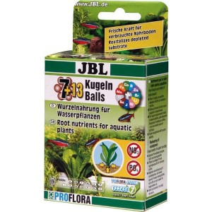 JBL (ДжБЛ) The 7 Balls +13  (20 шариков с удобрениями для корней растений)