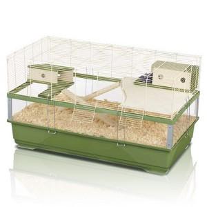 Imac ПЛЕКСИ 100 ВУД (PLEXI 100 WOOD) клетка для крыс, пластик (100х54,50х55,50 см.)