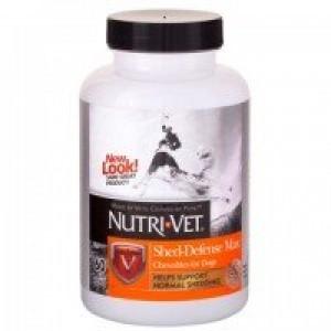Nutri-Vet (Нутри-Вет) «ЗАЩИТА ШЕРСТИ» добавка для собак, жевательные таблетки