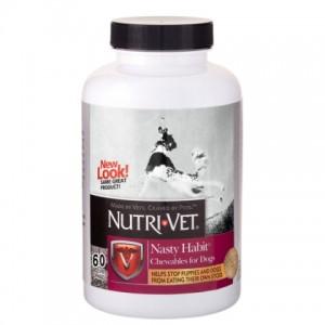 Nutri-Vet ОТ ПОЕДАНИЯ ЭКСКРЕМЕНТОВ (Nasty Habit) для собак (60 таб.)