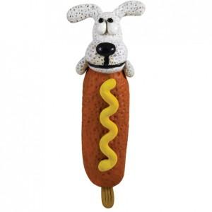 PETSTAGES Lil Corn Dog Игрушка-пищалка для малых и средних пород собак
