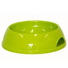 Moderna Eco # 1 - миска пластиковая для собак и котов 470 мл, d-14 см