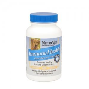 Nutri-Vet Immune Health - добавка для укрепления иммунной системы у собак, жевательные таблетки