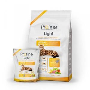 Profine (Профайн) LIGHT натуральное мясо индейки и рис для котов и кошек с избыточным весом