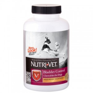 Nutri-Vet (Нутри-Вет «КОНТРОЛЬ МОЧЕВОГО ПУЗЫРЯ» комплекс от недержания мочи у собак, жевательные таблетки)