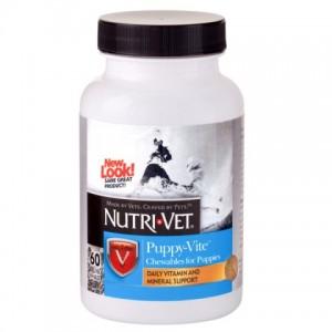 Nutri-Vet ПАППИ-ВИТ (Puppy-Vite) комплекс витаминов и минералов для щенков (60 таб.)