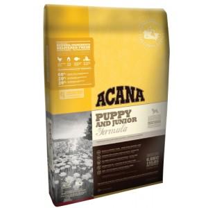 Беззерновой корм для щенков средних пород: высокопротеиновый сухой корм из Канады: «Acana Puppy&Junior Heritage» | Свежий, питательный, натуральный, улучшает обмен веществ | Petplus