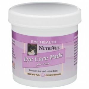 Nutri-Vet Нутри-Вет «ОЧИСТКА ПЯТЕН» влажные салфетки для удаления пятен от слез и слюны для котов