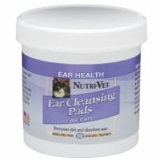 Nutri-Vet (Нутри-Вет) «ЧИСТЫЕ УШИ» влажные салфетки для гигиены ушей котов