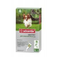 Bayer Advantix (Адвантикс) - средства защиты для собак от блох и клещей (до 4 кг)