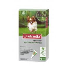 Bayer Advantix (Адвантикс) - средства защиты для собак от блох и клещей до 4 кг