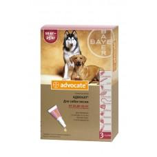 Bayer Advocate (Адвокат) - средства защиты от паразитов для собак весом от 10 до 25 кг