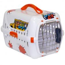 Moderna ГРАФИТИ 1 переноска для собак и кошек с металлической дверью IATA (51x31x34 см.)