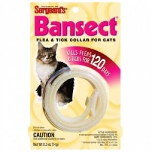 SENTRY Sergeants  (Bansect) ошейник от блох для кошек (35 см.)