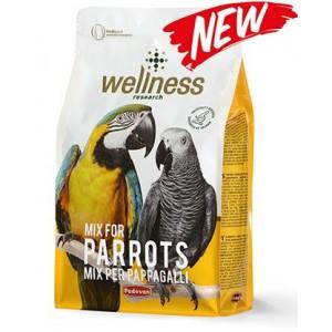 Padovan Wellness pappagalli ✦ корм для попугаев (жако, apa, амазон)