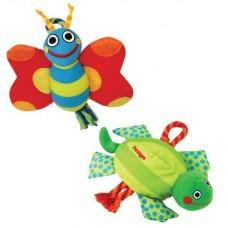 PETSTAGES Assorted Butterfly and Turtle - игрушка для собак «Бабочка и Черепаха в ассортименте»