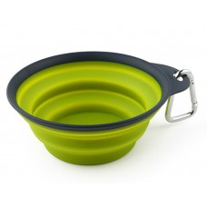 DEXAS Collapsible Travel Cup large -Миска складная с карабином для собак и кошек