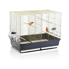 Imac ТАША (TASHA) клетка для канареек и попугайчиков, пластик, латунь (80,5х49х65 см.)