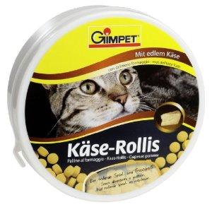 Gimpet (Джимпет) KASE-ROLLIS Сырные ролики витамины для кошек