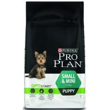 Purina Pro Plan Small & Mini Puppy с комплексом OPTISTART - корм для щенков малых пород