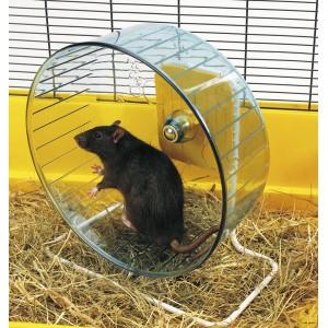 Savic РОЛЛИ (Rolly Giant+Stand) тренажер колесо для хомяков и крыс, пластик