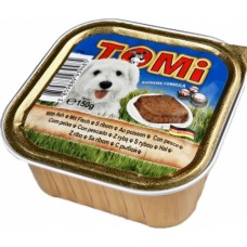 TOMi Fish - консерва для собак, паштет / рыба