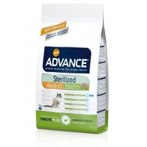 Advance «Эдванс» Cat Sterilized корм для стерилизованных кошек c индейкой