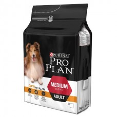 Purina Pro Plan Medium Adult с комплексом OPTIHEALTH - корм для собак средних пород / курица