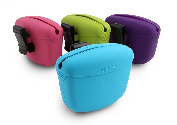 DEXAS Pooch Pouch™ - контейнер для лакомств с клипсой на пояс для собак