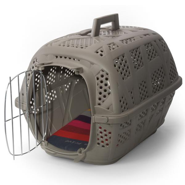 Imac КЭРРИ СПОРТ (CARRY SPORT) переноска для собак и кошек, пластик,серый цвет