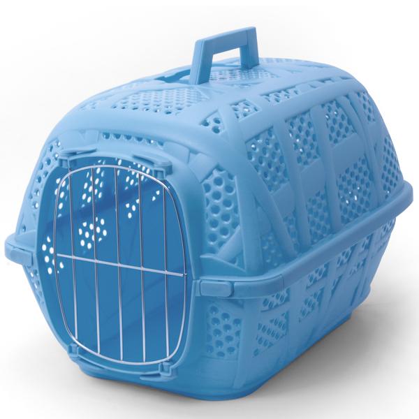 Imac КЭРРИ СПОРТ (CARRY SPORT) переноска для собак и кошек, пластик,голубой цвет