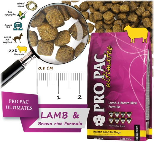 Pro Pac Ultimates Lamb Meal & Brown Rice