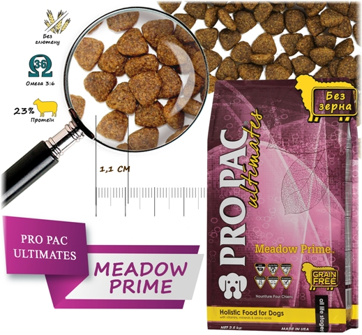 Pro Pac Ultimate Meadow Prime Dry Dog Food -