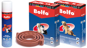 Bayer BOLFO - ошейник от блох и клещей для собак и кошек